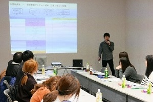 経済学部神田ゼミ、産学協同研究の発表会開催