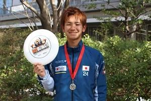 世界2位! —社会イノベーション学部2年の平野健太さんが世界U-24アルティメット選手権ミックス部門で準優勝しました—